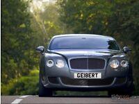 Cherished Number plate Gilbert GE18ERT