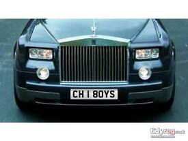 CH 1 8OYS Number plate
