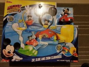 Fisher-Price Disney Mickey Mouse Clubhouse Zip, Slide and Zoom
