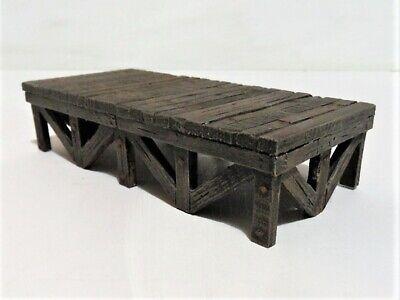 O Gauge / 7mm Timber trestle Platform Kit.