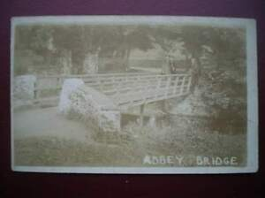 POSTCARD-RP-SOCIAL-HISTORY-ABBEY-BRIDGE-UNKOWN