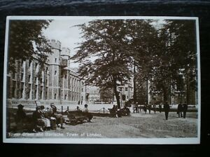 POSTCARD-RP-LONDON-TOWER-OF-LONDON-TOWER-GREEN-BARRACKS