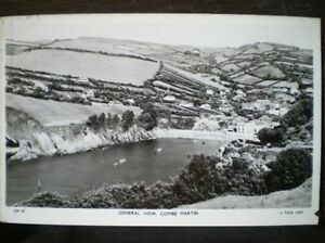 POSTCARD-RP-DEVON-AERIAL-VIEW-OF-COMBE-MARTIN