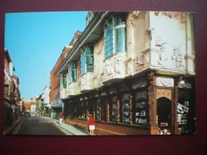 POSTCARD-RP-SUFFOLK-IPSWICH-BUTTER-MARKET-ANCIENT-HOUSE