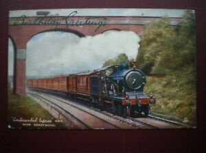 GREAT EASTERN RAILWAY - 'CONTINENTAL EXPRESS' NEAR BRENTWOOD