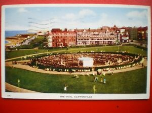 POSTCARD-RP-KENT-CLIFTONVILLE-THE-OVAL-1950S