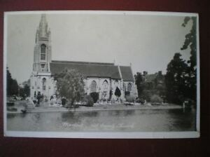 POSTCARD-RP-BUCKINGHAMSHIRE-MARLOW-ALL-SAINTS-CHURCH