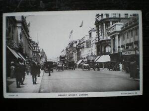 POSTCARD-RP-LONDON-REGENT-STREET-BUSY-SCENE