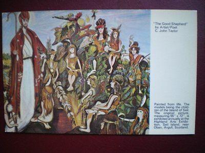 POSTCARD RELIGIOUS THE GOOD SHEPHERD