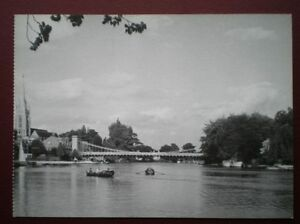 POSTCARD-RP-BUCKINGHAMSHIRE-MARLOW-BRIDGE-GREAT-VIEW-TOWARDS-THE-BRIDGE-SIZE-6