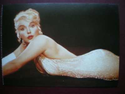 POSTCARD ACTRESSES MARILYN MONROE IN 'LETS MAKE LOVE'  (1) 1960