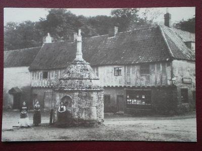 POSTCARD NORFOLK LITTLE WALSHAM - A GOTHIC PUMP HOUSE C1890