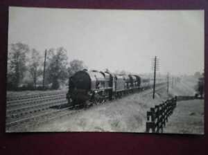 PHOTO  LMS ROYAL SCOT CLASS LOCOS NO 6145 NEAR BLETHLEY JUNE 1939