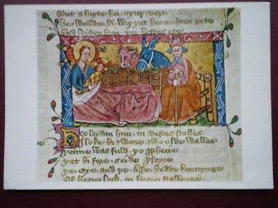 POSTCARD RELIGIOUS C.68 NATIVITY - STORY OF THE GOSPEL