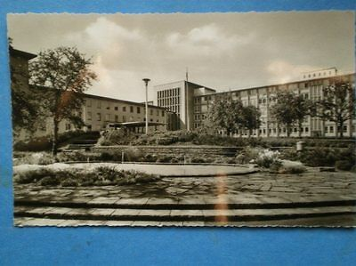 POSTCARD RP GERMANY BUNDESWEHF HOSPITAL COBLENZ METTERNICH