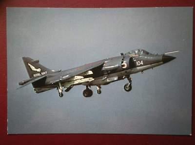 POSTCARD AIR BRITISH AEROSPACE SEA HARRIERS FRS.1 OF 899 SQUADRON