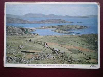 POSTCARD KERRY DERRYNANE HARBOUR - NEAR WATERVILLE - RING OF KERRY