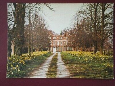 POSTCARD CAMBRIDGESHIRE THRIPLOW - THE BURY