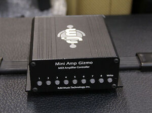100% Mint Midi RJM Mini Amp Gizmo Pedal+ EVH 5053 Custom Cable