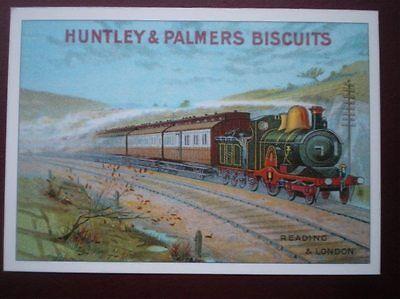 POSTCARD  HUNTLEY & PALMERS BISCUITS - R OPIE