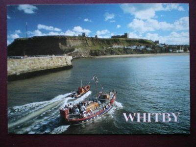POSTCARD YORKSHIRE WHITBY  - THE LIFEBOAT