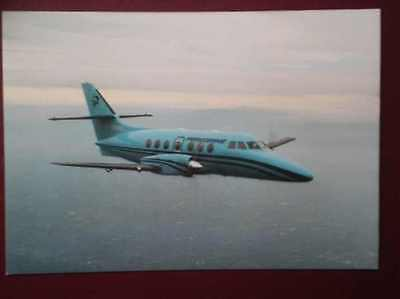 POSTCARD AIR JETSTREAM 31 AIRCRAFT OF PEREGRINE AIR SERVICES