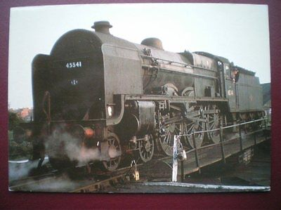 POSTCARD LMS - PATRIOT CLASS LOCO NO 45541 - DUKE OF SUTHERLAND