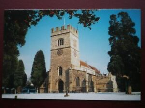 POSTCARD-B9-BUCKINGHAMSHIRE-ST-LAWRENCE-CHURCH-WINSLOW