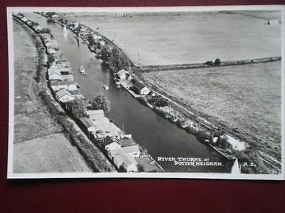 POSTCARD RP NORFOLK POTTER HEIGHAM - RIVER THURNE