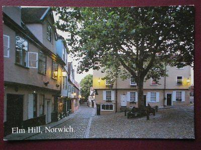 POSTCARD NORFOLK NORWICH - ELM HILL IN THE EVENING