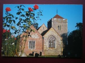 POSTCARD-B9-BUCKINGHAMSHIRE-ST-GILES-CHURCH-STOKE-POGES