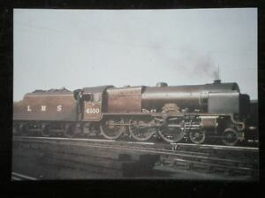 POSTCARD-LMS-RAILWAY-FOWLER-UNREBUILT-ROYAL-SCOT-CLASS-LOCO-NO-6100-ROYAL-SCOT