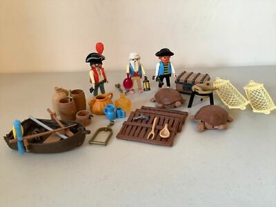 Playmobil pirate figures and accessories island 3799 or addition to pirate sets