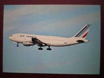 POSTCARD AIR AIR FRANCE AIRBUS  AEROPLANE