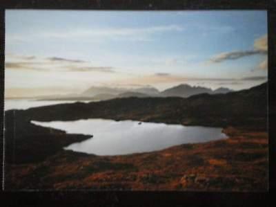 POSTCARD ISLANDS THE CULLIN HILLS & LOCH DUGHAILL ISLE OF SKYE