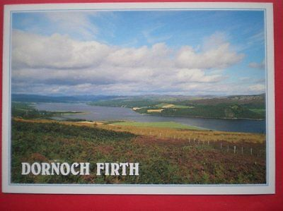 POSTCARD SUTHERLAND DORNOCH FIRTH & THE KYLE OF SUTHERLAND