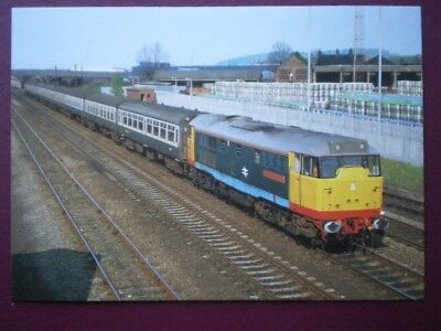 POSTCARD CLASS 31/4 DIESEL LOCO NO 31413 'SEVERN VALLEY RAILWAY'