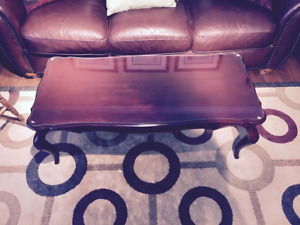 ANTIQUE STULE SOLID WOOD COFFEE TABLE
