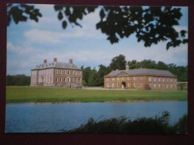 POSTCARD LEICESTERSHIRE STANFORD HALL THE SOUTH & EAST VIEW ACROSS THE RIVER AVO