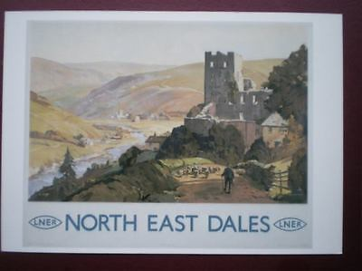 POSTCARD LNER - NORTH EAST DALES POSTER