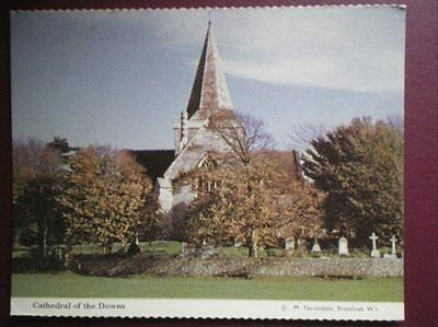 POSTCARD RELIGIOUS CATHEDRAL OF THE DOWNS