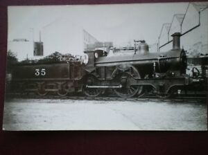 PHOTO  MIDLAND RAILWAY 2-4-0 LOCO NO 35