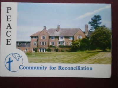 POSTCARD RELIGIOUS COMMUNITY FOR RECONCILIATION - PEACE - BARNES CLOSE