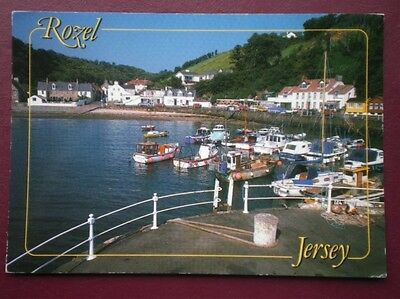POSTCARD JERSEY ROZEL - VIEW OF BAY