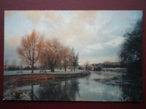 POSTCARD-B14-BUCKINGHAMSHIRE-RIVER-OUSE-OLNEY
