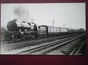 POSTCARD-LMS-ROYAL-SCOT-CLASS-LOCO-NO-6112-SHERWOOD-FORESTER