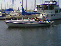 Tanzer 22 with trailer and new engine