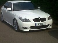 BMW E60 LCI DOOR FRONT AND REAR IN WHITE