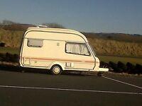 2/4 berth caravan