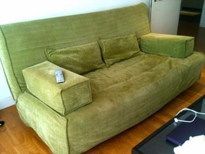 IKEA Beddinge Sofa Bed In Green